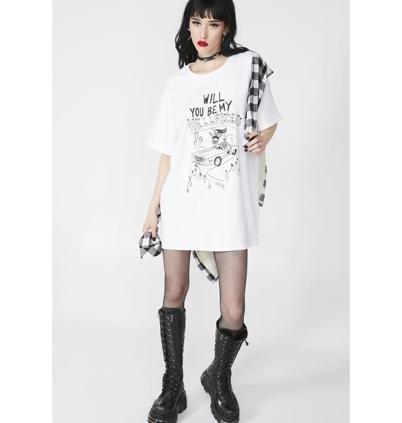The Ragged Priest X Gory Bastard Will You Be My Hell Friend Tee
