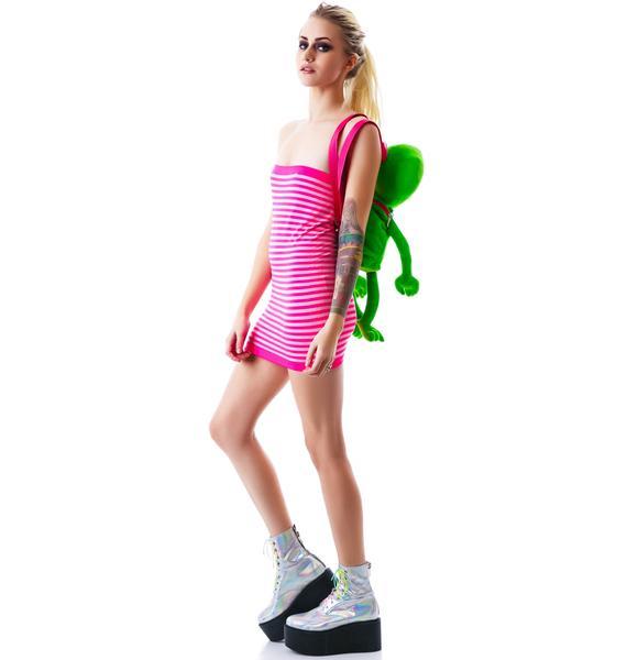 SuperStripes Tube Dress