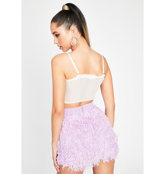 Kiss This Feeling Fuzzy Skirt