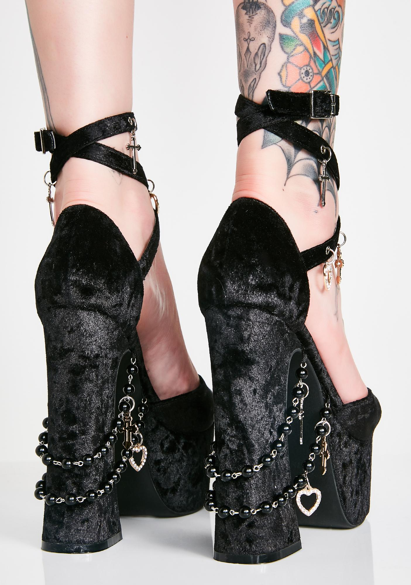 Sugar Thrillz Unholy Revelation Platform Heels