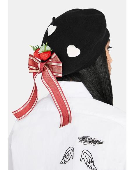 Strawberry Kiss Beret