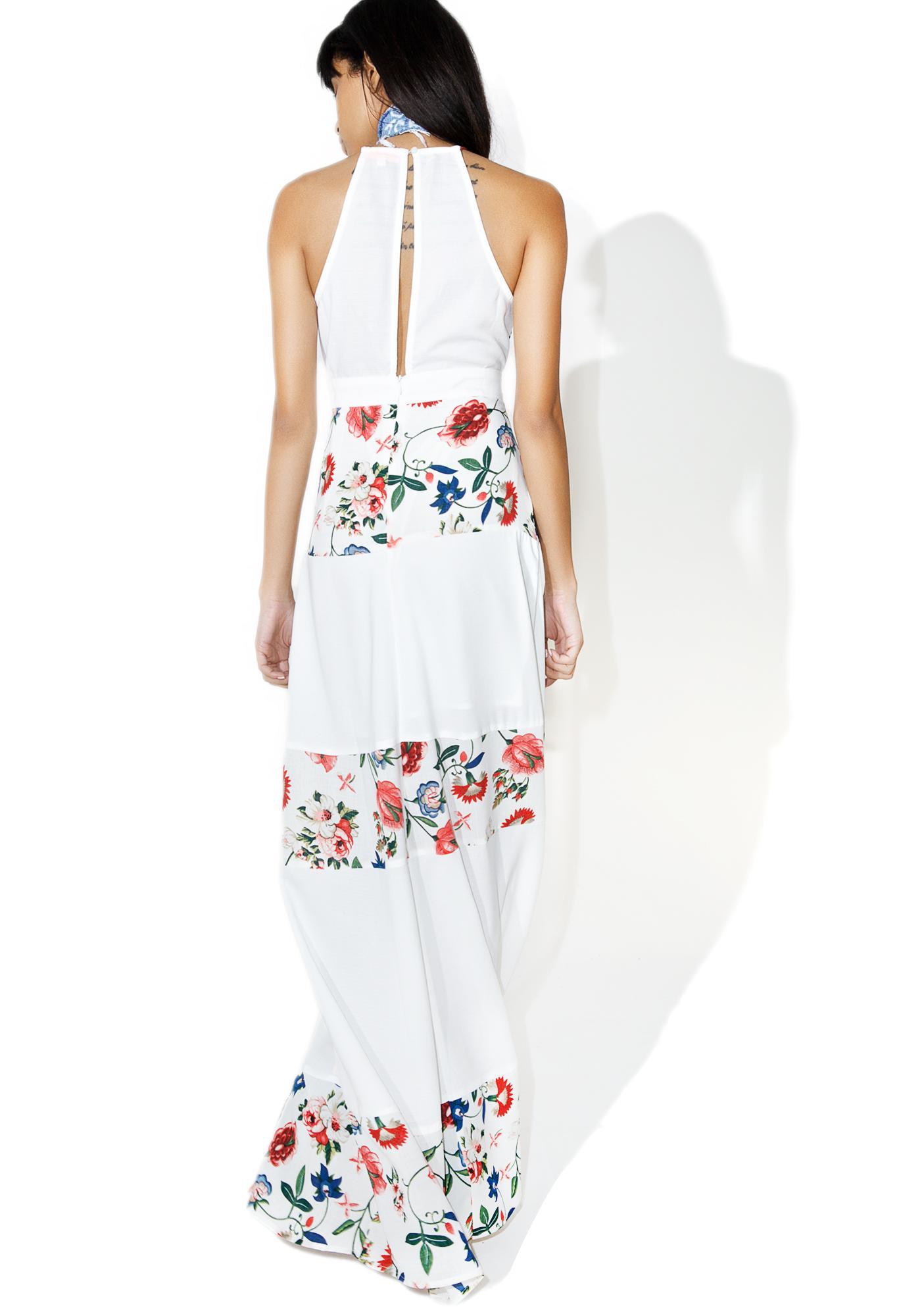 Theda Floral Maxi Dress