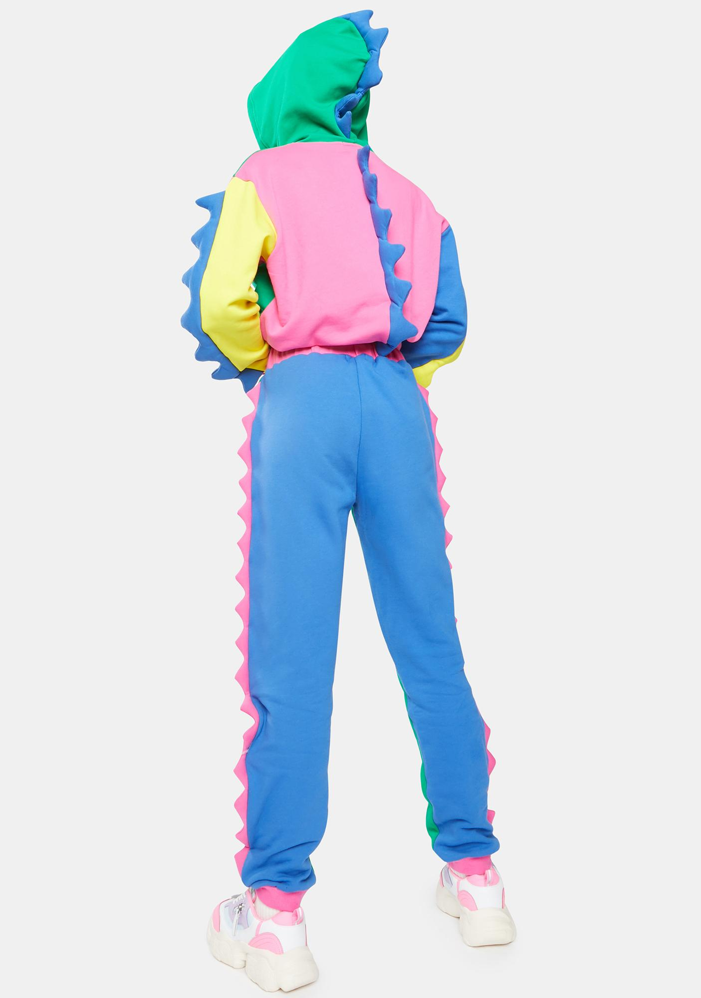 Current Mood Dino Mighty Colorblock Sweatpants