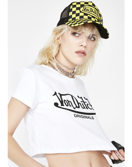 Von Dutch Crop Top