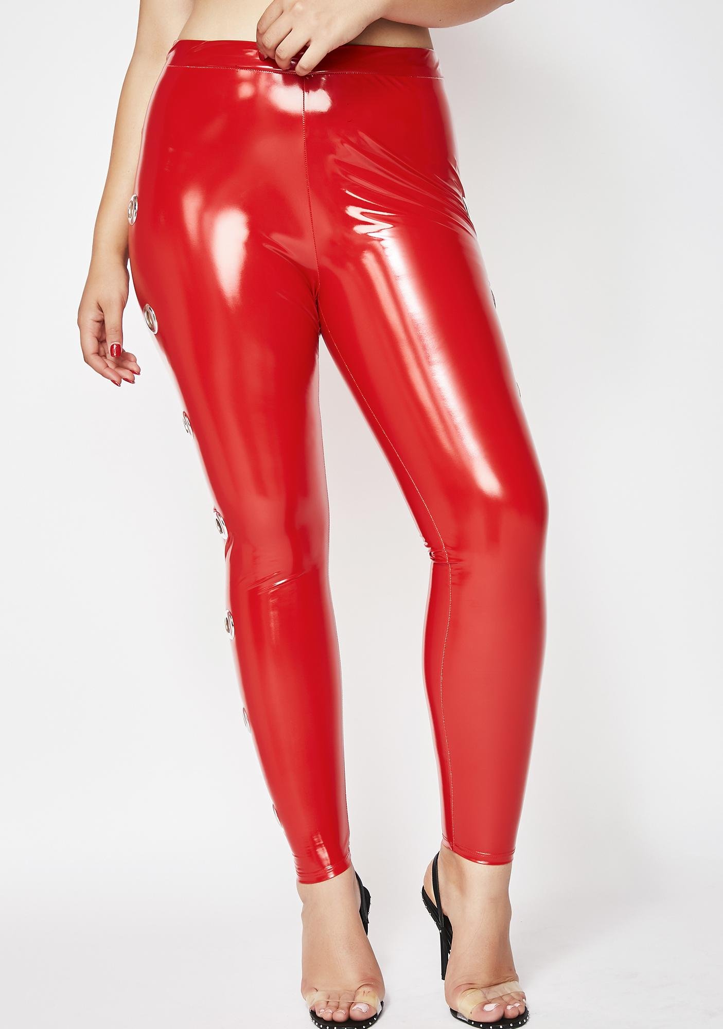 Fire Better Than Ever Vinyl Leggings
