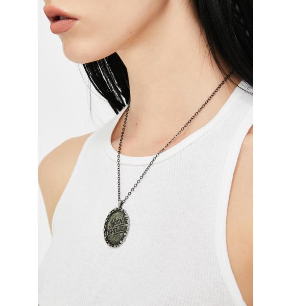 Killstar Moon Childe Pendant Necklace