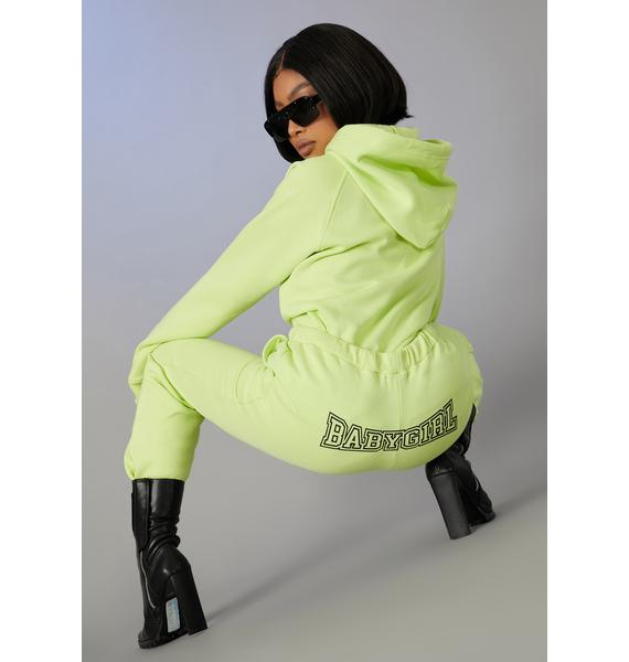 Poster Grl Stopping Time Oversized Sweatpants