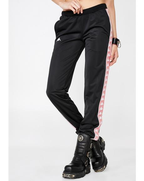 Pink 222 Banda Wastoria Trackpants