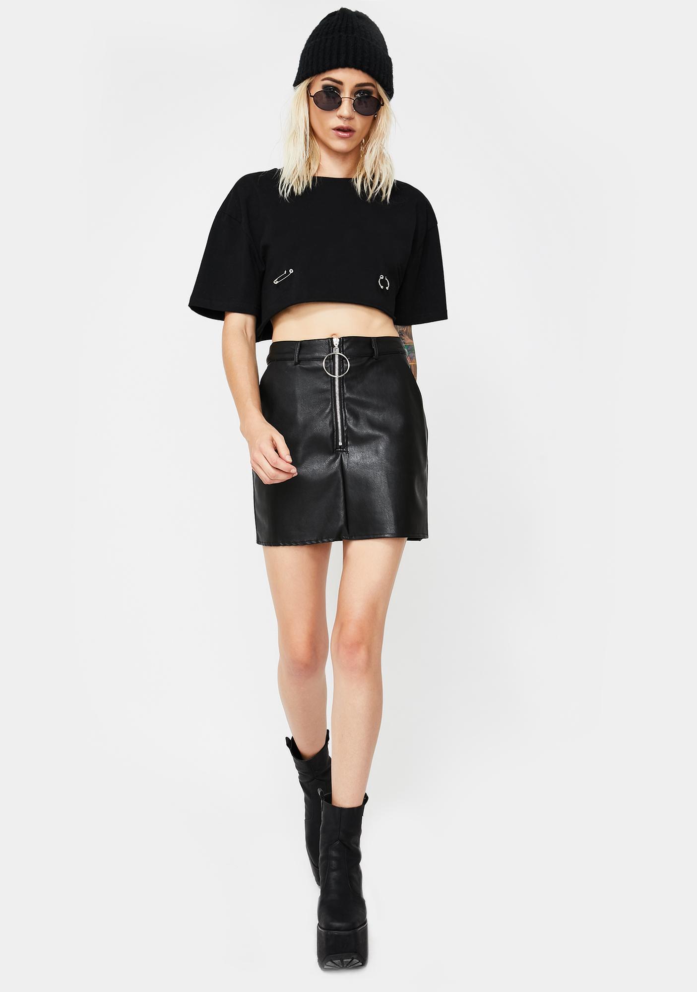 Backroads Baddie Mini Skirt