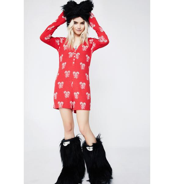 Wildfox Couture Sweet Treat V Neck Onesie