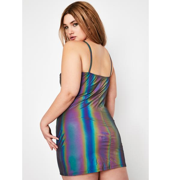 Club Exx High Spectral Frequency Reflective Dress
