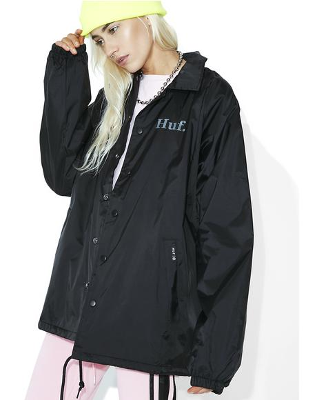 X PP Coach's Jacket