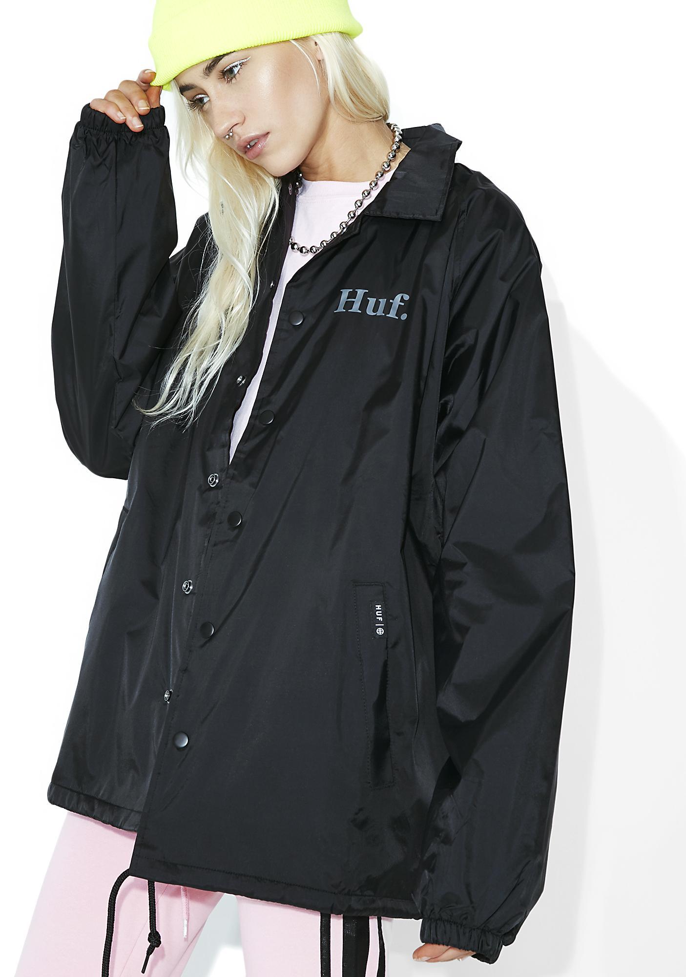 HUF X PP Coach's Jacket