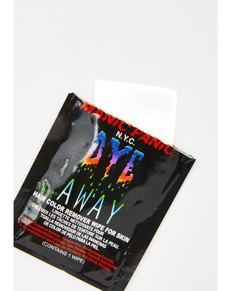 Dye Away Wipe