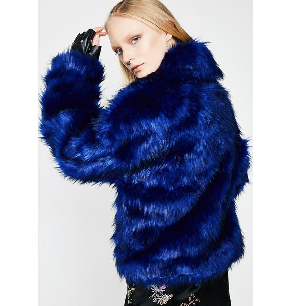 Easy Breezy Fuzzy Coat