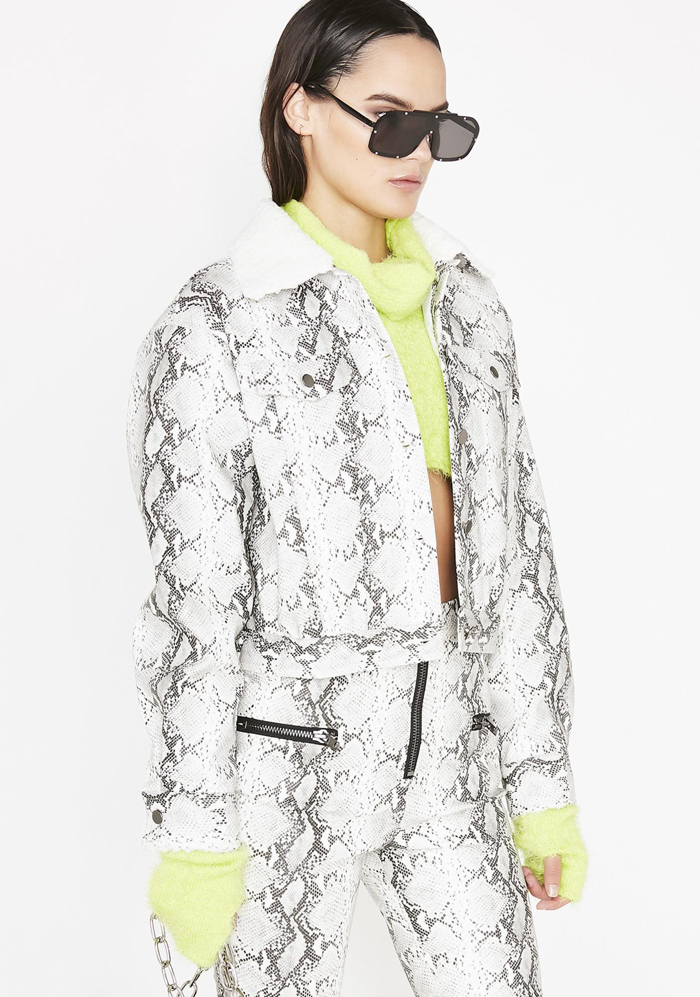 Honey Punch Venomous Love Cropped Jacket
