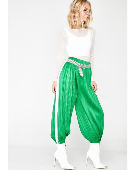 Pretty Pleats Please Jogger Pants