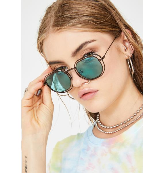 Over Complicated Square Sunglasses