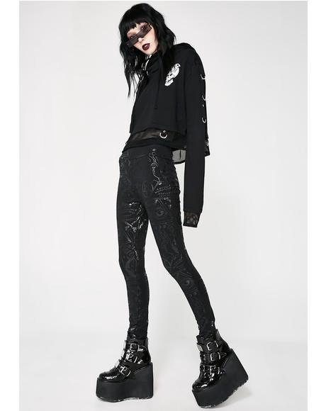 Grave Girl Leggings