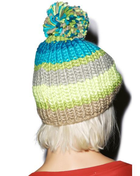 Pom Pom Hurrah Hat