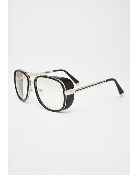 Editorial Vision Square Sunglasses