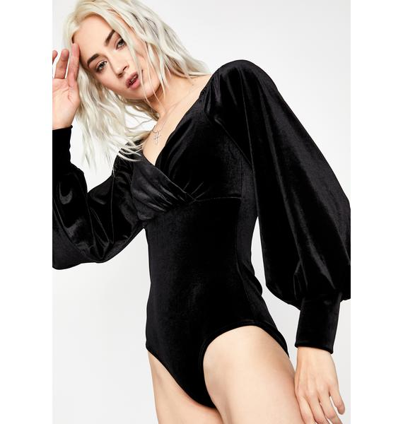 Night Owl Velvet Bodysuit