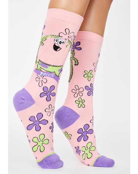 Baby Patrick Crew Socks