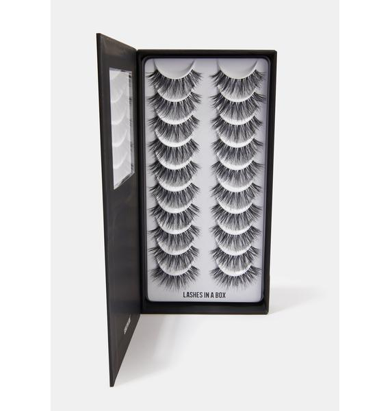 LASHES IN A BOX N°30 Natural Hair Eyelashes