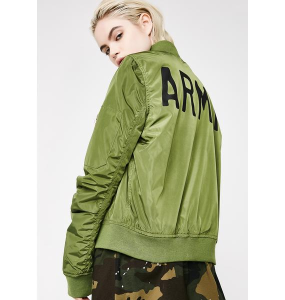 Hangin' Tough Bomber Jacket