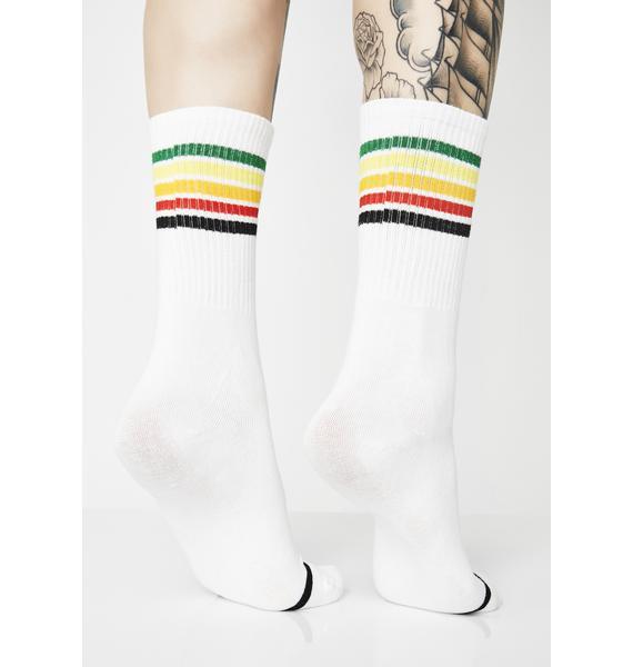 A Lil Mambo Stripe Socks