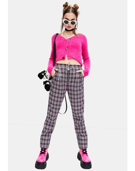Let It Be Plaid Pants