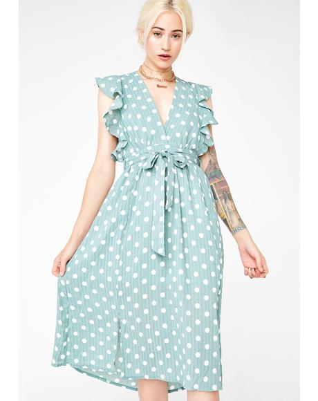 Lady Of Love Midi Dress