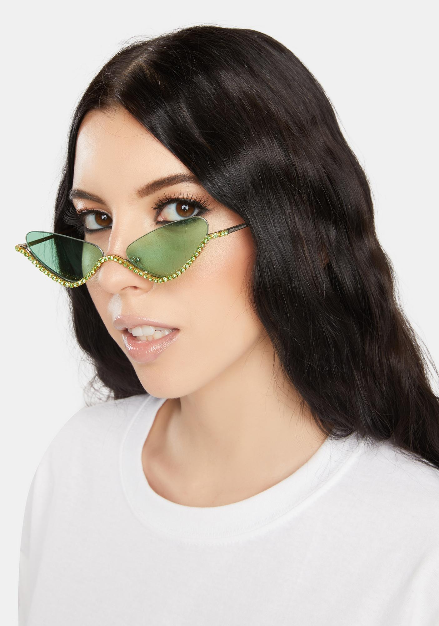 Cash Purrrfect Shine Cat Eye Sunglasses