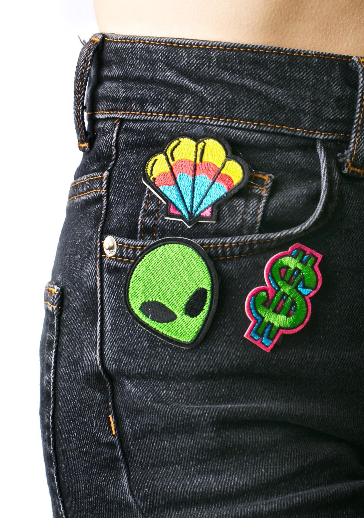 Love And Madness Dollar Sign Patch