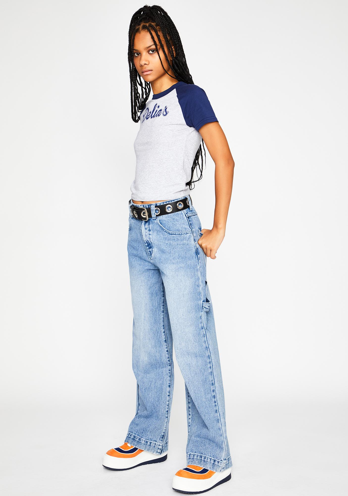 dELiA*s by Dolls Kill So Misunderstood Denim Jeans
