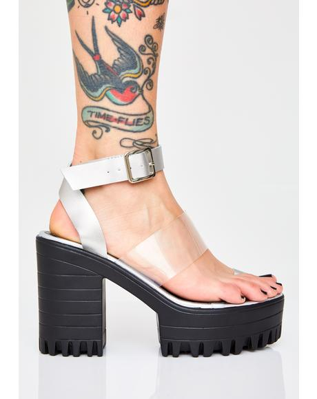 Shook Ibiza Platform Heels