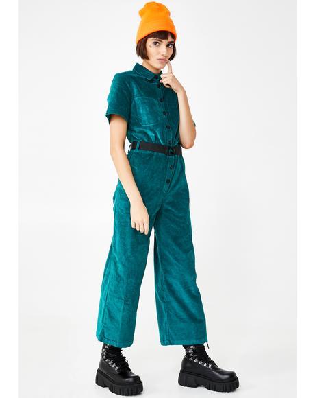 Lazy Cord Boiler Suit