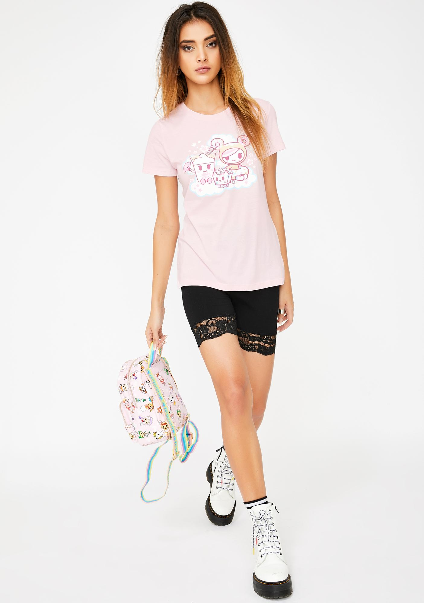 Tokidoki Foodie Besties Graphic Tee