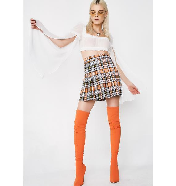 O Mighty Pumpkin Spice Skirt