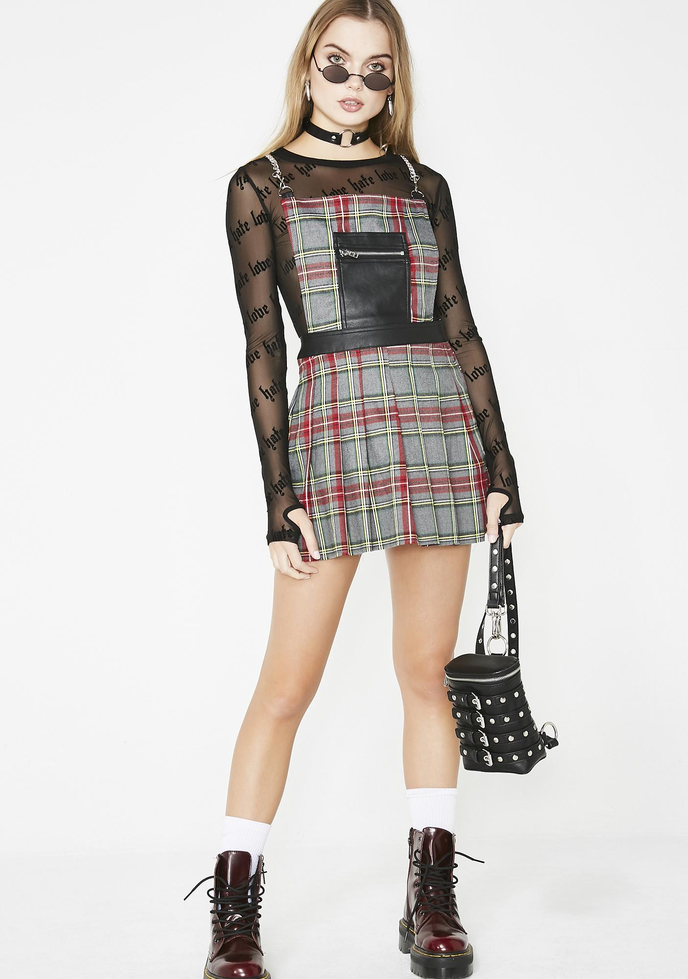 c4f61f6eb7385a ... Current Mood Teen Spirit Plaid Dress ...