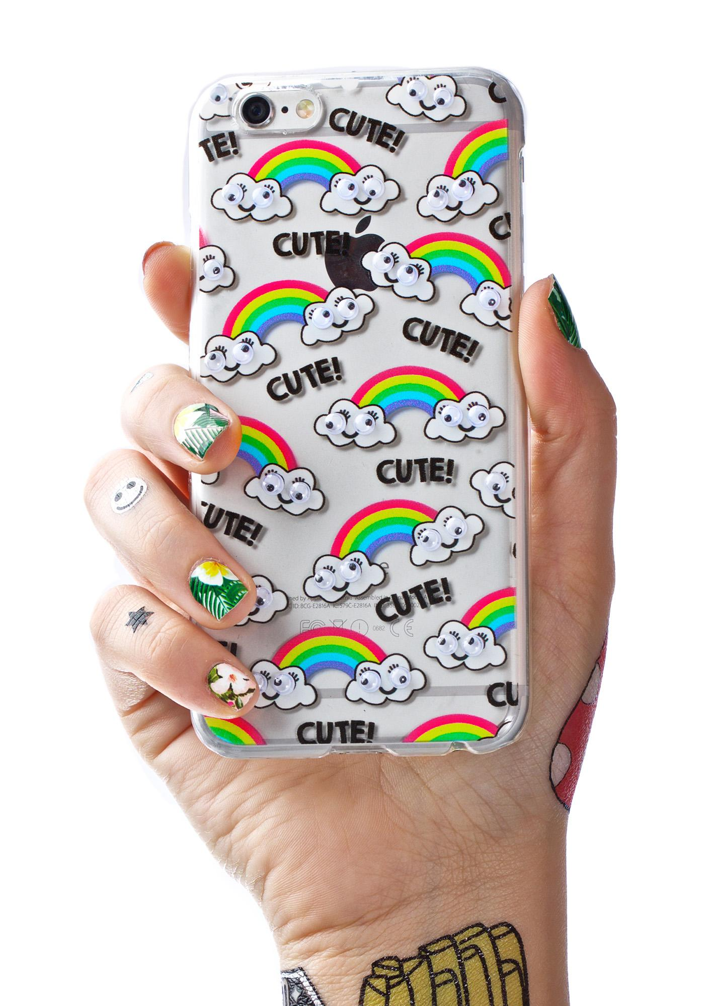 Skinnydip Googly Rainbow iPhone 6/6+ Case