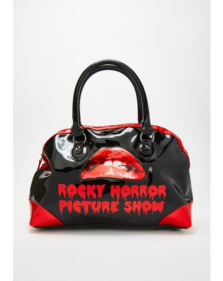 Rocky Horror Picture Show Lips Handbag