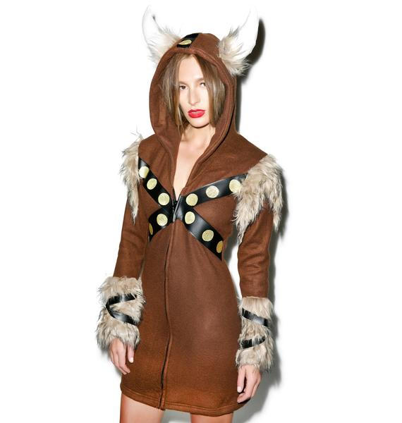 Raiding Vixen Viking Costume