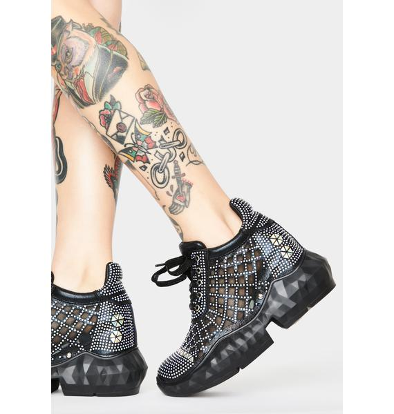 Glimmer Glamour Platform Sneakers