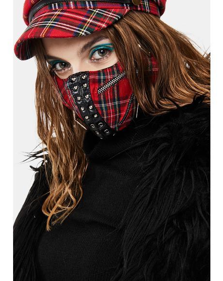 Tartan Face Mask