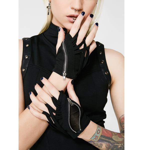 Punk Rave Cross Gloves
