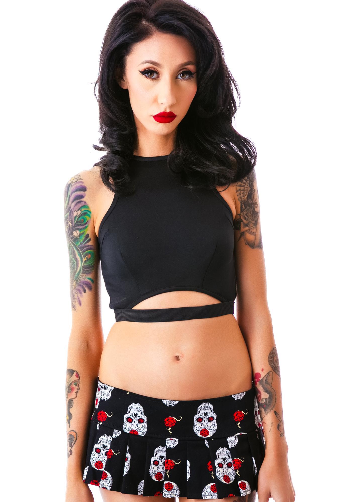 Calavera Skirt