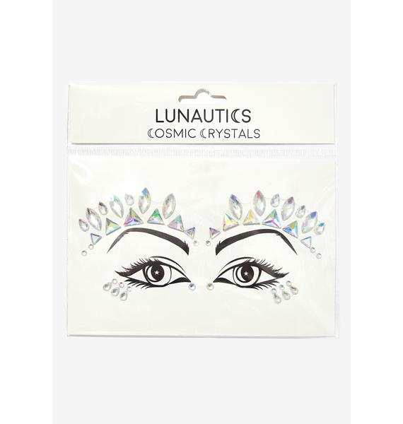 Lunautics Nefertiti Cosmic Face Crystals