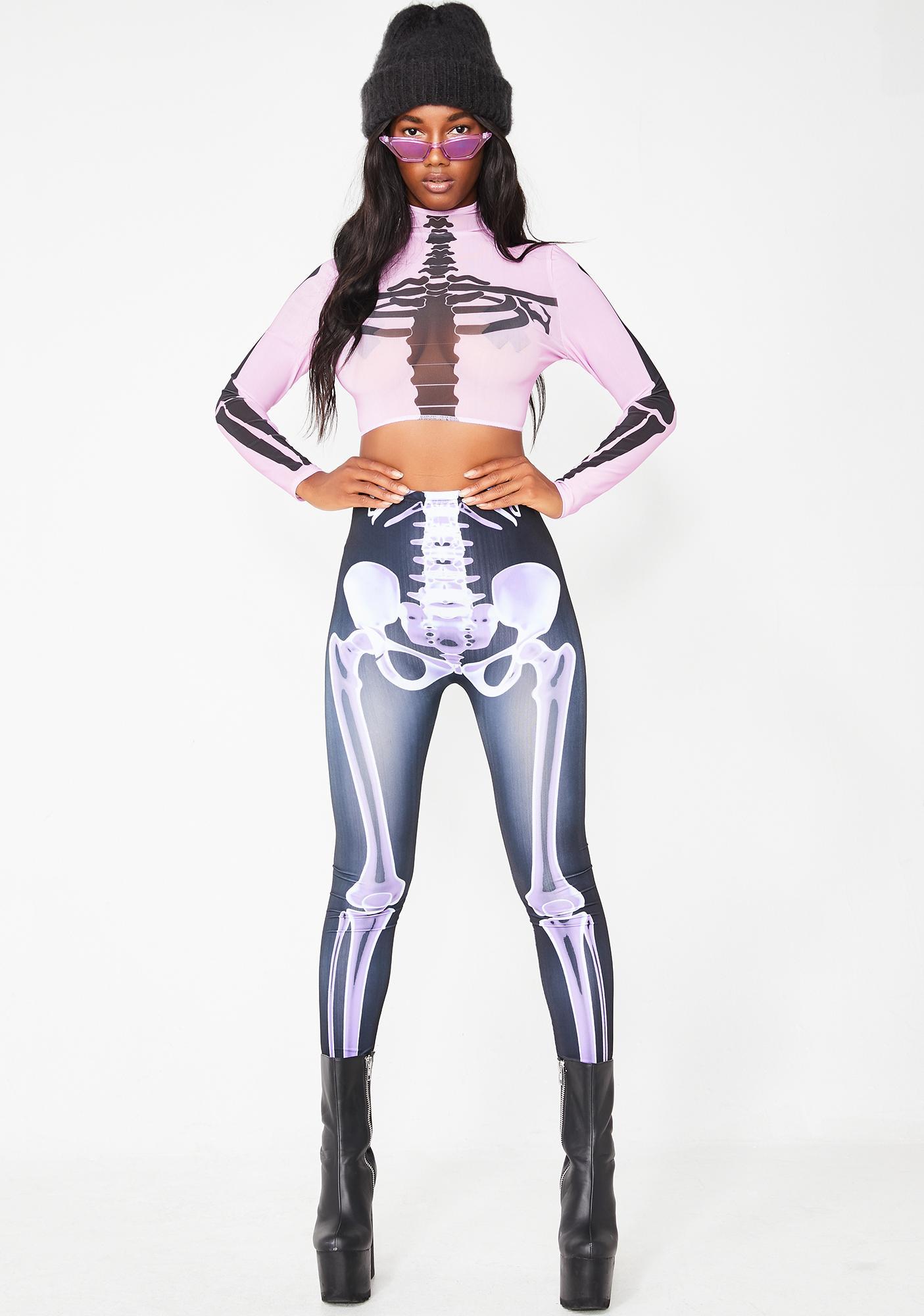 Skin N Bones Crop Top