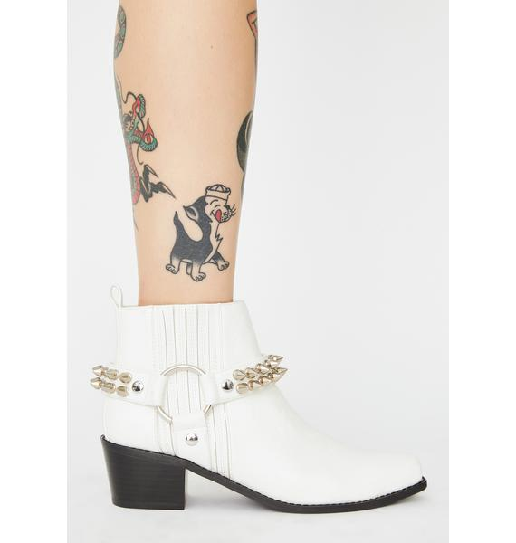 Current Mood Downward Riot Cowboy Boots